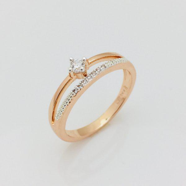 Кольцо Вальте, размер 17 ювелирная бижутерия