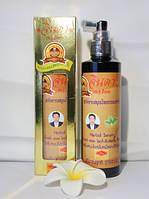 Натуральная тайская лечебная травяная сыворотка от выпадения волос Jinda Herb, 250мл