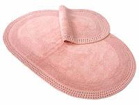 Набор ковриков для ванной Irya Laverne rose розовый 60*90+40*60
