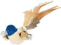 Trixie TX-45765 игрушка  для кошек Птица с перьями