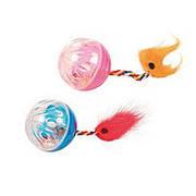 Trixie  TX-4165 мячики со звоночком игрушка  для кошек (2шт)