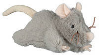 Trixie   TX-45788 мышь с пищалкой (плюш) 15см