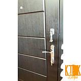 """Вхідні двері в квартиру серії Комфорт """"Токіо"""" (венге), фото 4"""