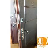 """Вхідні двері в квартиру серії Комфорт """"Токіо"""" (венге), фото 3"""