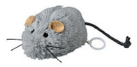 Trixie  TX-4083 Мышь вибрирующая меховая-игрушка для котят