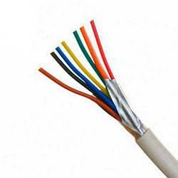 Сигнальный кабель медный 8х0,22 экранированный