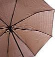 Зонт мужской полуавтомат Zest Z53622-2, антиветер, фото 3