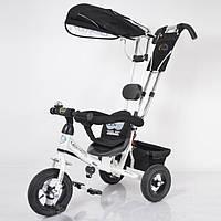 Детский трехколесный велосипед Lexus Trike LEX-007 надувные колеса 10/8 цвет белый