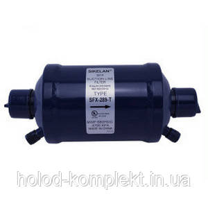 """Фильтр осушитель антикислотный на всасывающую линию с клапанами Шредера SFX-283T (3/8"""" пайка)"""