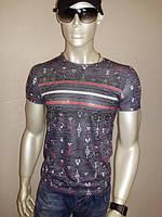 Стильная мужская футболка оптом и в розницу