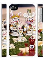 Чехол для iPhone 4/4s/5/5s/5с Алиса в стране чудес