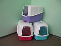 Закрытый туалет MPS KOMODA с фильтром для кошек (54x39x40см)