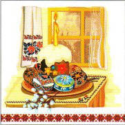Салфетка Luxy пасх Пасхальный вечер