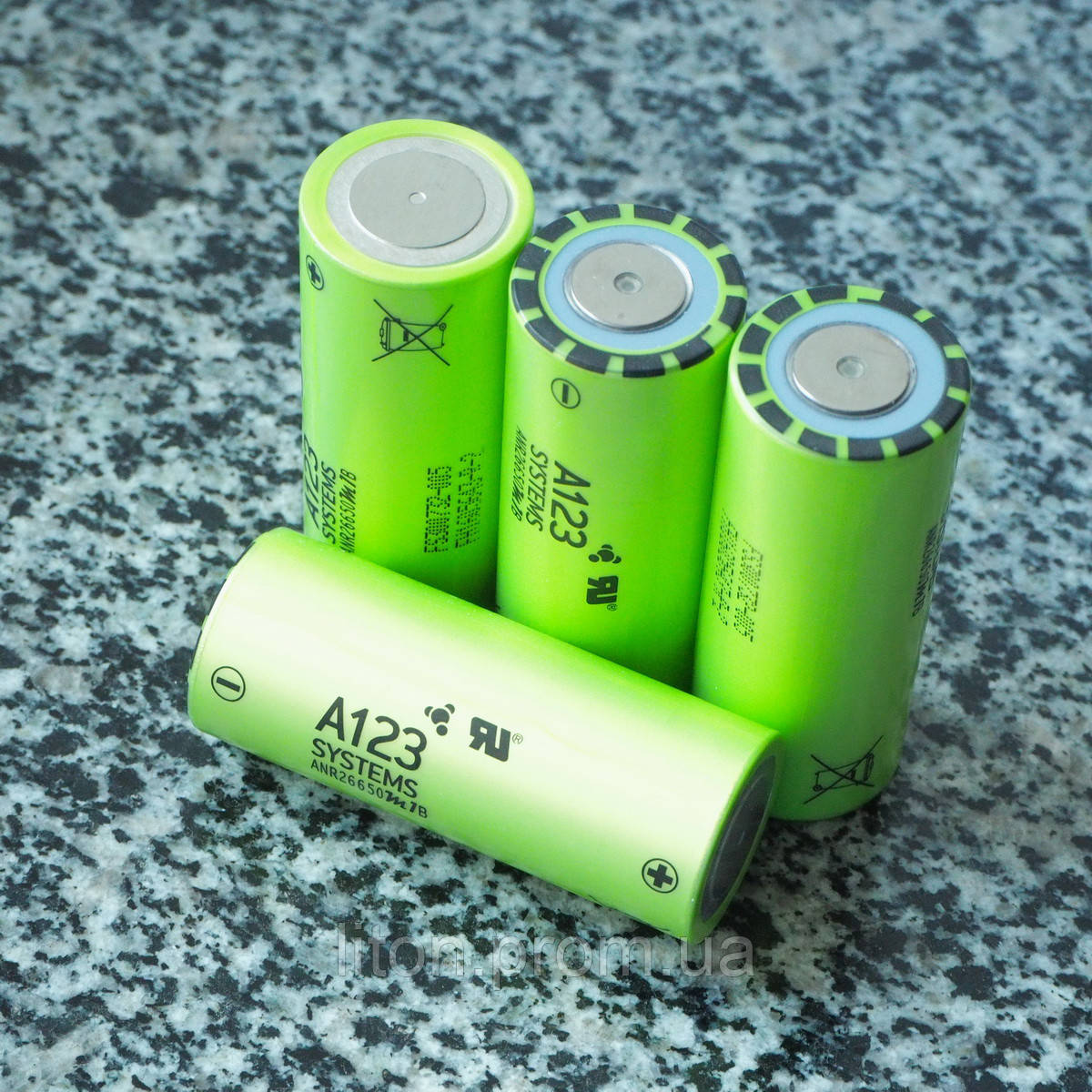 Акумулятор A123  ANR26650M1B LiFePo4 на 2500 mAh Високотоковий (70А)