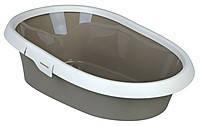 Trixie TX-40321 туалет Paulo для кота с рамкой и высокими стенками (31 × 14 × 43 см)
