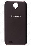 Lenovo S820 крышка аккумулятора черная оригинал