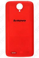 Lenovo S820 крышка аккумулятора красная оригинал