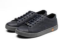 Мужские кожаные кеды кроссовки Philipp Plein (Филипп Плейн) в наличии, синий. Размер 40-45