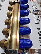 Коллектор для теплого пола на 7 контуров Gross (Польша), фото 2