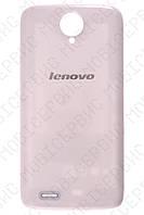 Lenovo S820 крышка аккумулятора белая оригинал