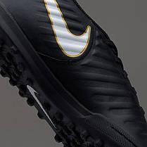 Сороконожки Nike TiempoX Rio IV TF 897770-002 (Оригинал), фото 3