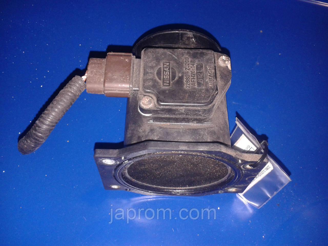 Датчик расхода (потока) воздуха, расходомер M.A.F. Nissan Primera 11 1996-2001г.в 2.0