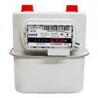 Лічильник газу Metrix G-1,6  (квартирний)  D-20 (3/4) - L=110мм.