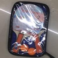 Теніс настільний BT-PPS-0043 2 ракетки (1,1 см, кольо. ручка), 3 м'яча в сумці