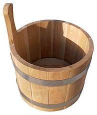 Ковш дубовый  5 л, фото 3