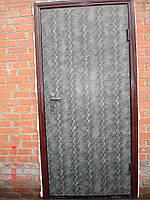 Дверь металлическая с антивандальной пленкой