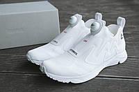 Женские кроссовки Vetements Reebok Pump Supreme белые