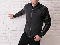"Куртка Pobedov ""Metal Zipper"" Jacket Темно-серый"