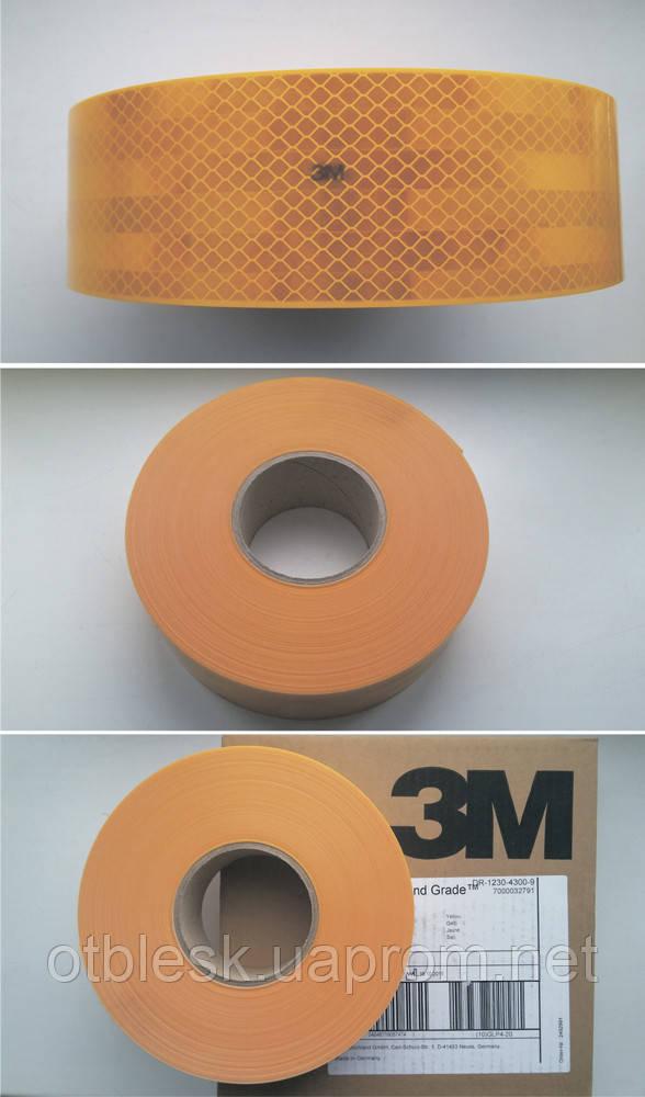 Лента для контурной маркировки 3М, желтая