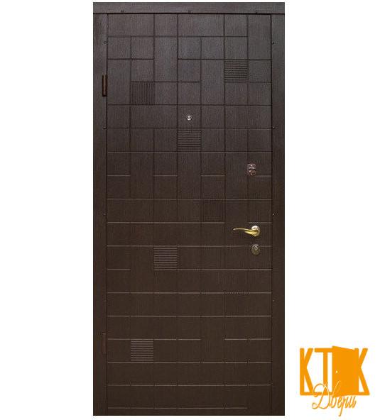 "Вхідні двері серії Елегант ""Каскад"" (венге)"