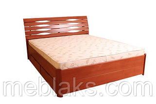 """Кровать деревянная """"Мария Люкс"""" c 4-мя ящиками (серия Мария)  Микс Мебель, фото 3"""