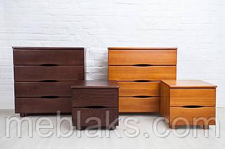 """Кровать деревянная """"Мария Люкс"""" c 4-мя ящиками (серия Мария)  Микс Мебель, фото 2"""