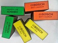 Шлифовальная губка Bosch fine желтая средняя зернистость