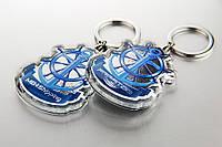 Брелки фирменные с кольцом для ключей