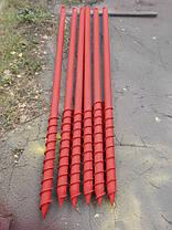 Свая многовитковая Ø 89 мм длинна 4,5 м, фото 2