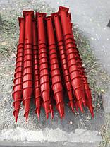 Свая многовитковая Ø 76 мм длинна 3,5 м, фото 2
