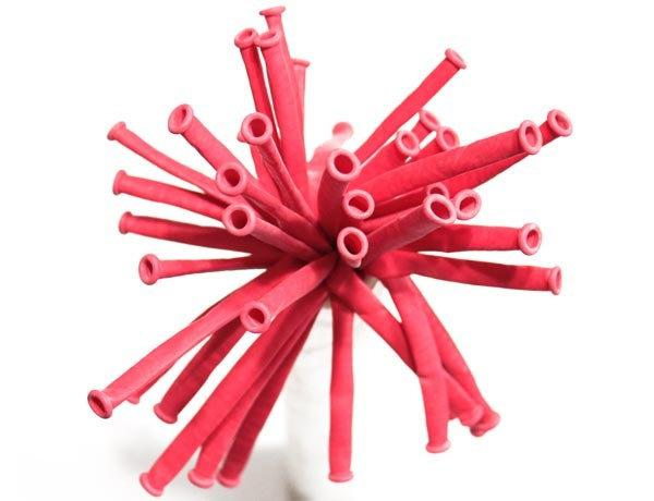 ШДМ Красные - латексные шары для моделирования (диаметр 5 см) TM Gemar