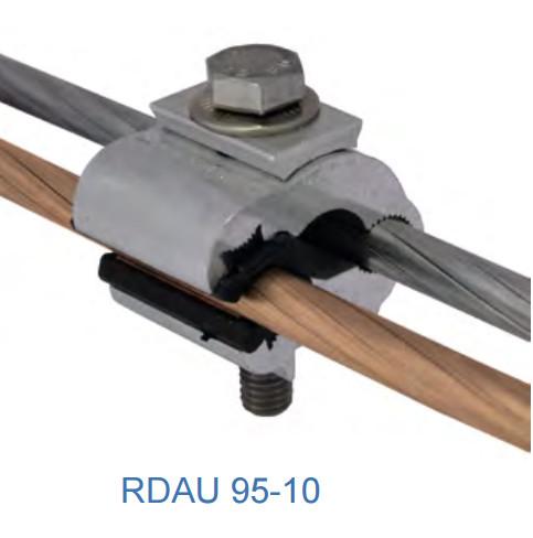 Ответвительный плашечный зажим RDAU 95-35 G