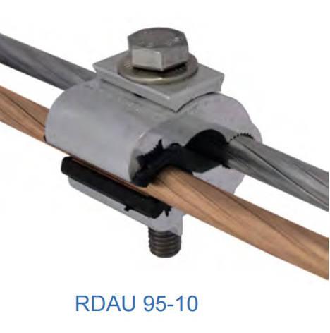 Ответвительный плашечный зажим RDAU 95-35 G, фото 2