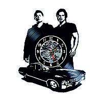 Настенные часы из виниловых пластинок LikeMark Supernatural