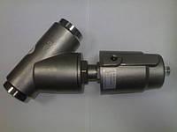 Клапан пневматический угловой седельный, Пневмоклапана, клапана с пневмоприводом