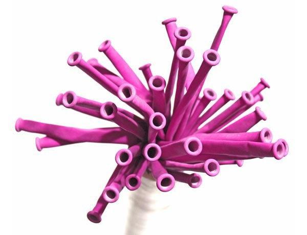 ШДМ Розовые Фуксия - латексные шары для моделирования (диаметр 5 см) TM Gemar