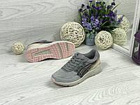 Кроссовки женские серые Asics 4703