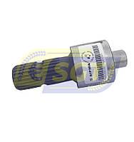 Вал на 24 шлица муфты сцепления (трещетки) на пресс-подборщик Sipma (Оригинал), фото 1