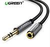 Ugreen 3.5 мм аудио кабель AUX удлинитель, длина 3м