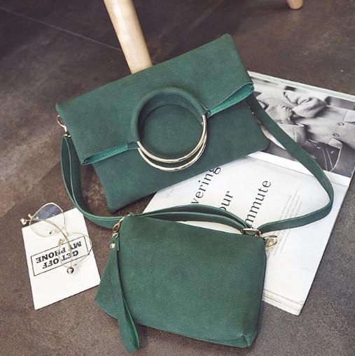 Средняя сумочка из коллекции Answear Зеленая Новинка